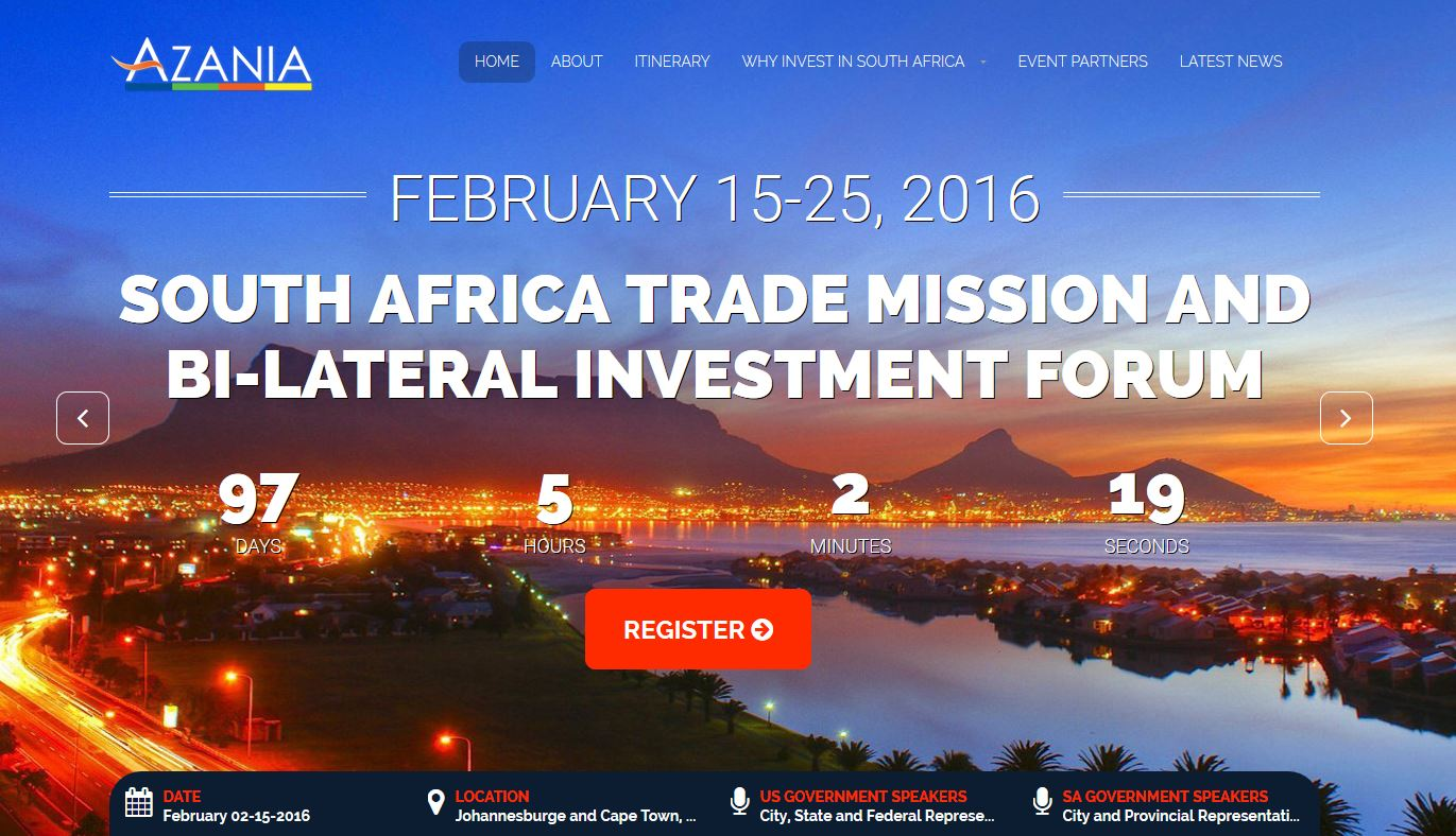 South Africa Trade Mission  February 2016